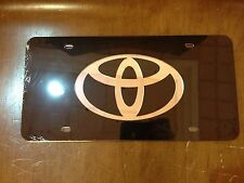 Toyota Stainless Steel License Plate