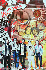 """Incubus """"Collage Of Band"""" Poster From Asia - Alternative Rock / Metal Music"""