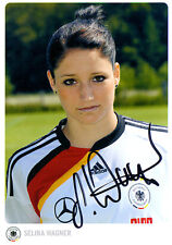 AUTOGRAFO-cartolina Selina Wagner u20-National giocatrice-SC Freiburg