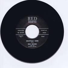 RED MOORE - CRAWDAD SONG - CLASSIC PRIMITIVE GUITAR ROCKABILLY BOPPER - REPRO