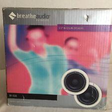 Breathe Audio Ba-650c Pair 6.5' Resonate In-ceiling In Wall Speakers (Pair) NEW