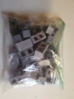 1/18 Scale Lot Of 34 Minuture USED Cinder Blocks For Your Diorama **Read**