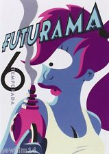 FUTURAMA DVD PACK 6º SEXTA TEMPORADA EN DVD NUEVO ( SIN ABRIR )