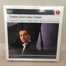 New 5 CD Box Set - Evgeny Kissin Plays Chopin - 2013 RCA Red Seal Piano Masters