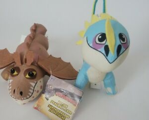Dreamworks How To Train Your Dragon Action 2 Action  Plush Cronckle & Stormfly