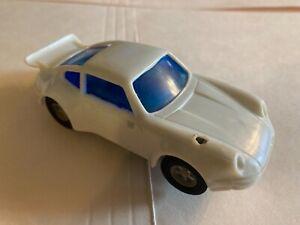 Vintage 1:43 Porsche White Artin Slot Car Missing Parts