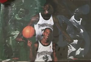 1996 Da Kids Timberworlves Costacos  Poster 23x35 Garnett Marbury