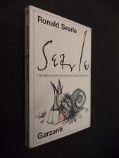 """I DISEGNI DI ROLAND SEARLE - GARZANTI 1973 - COME NUOVO """"NM"""""""