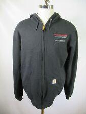 F6734 Men's Carhartt Hooded Full-Zip Sweater Size L