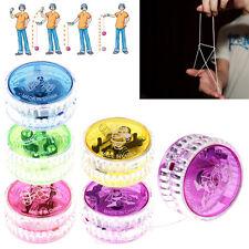 New LED Glow Light Up YOYO Party Colorful Yo-Yo Toys For Kids Boy Toys Gift CN