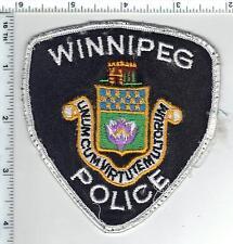 Winnipeg Police (Canada) Uniform Take-Off Shoulder Patch Early 1980's