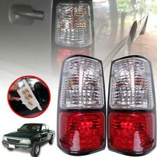Tail Light Rear Lamp Bulbs Pair Red For Isuzu TFR Holden Rodeo Pickup 1989-1996