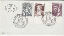 Austria  FDCs 1971 Art Treasures set