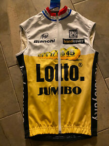 Lotto Jumbo Wind Vest Rider Issued Dutch Champ Tour De France Flanders