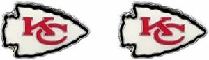 Kansas City Chiefs NFL Post Stud Earrings Charm Logo