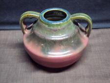 Fulper Two Handled Pottery Vase