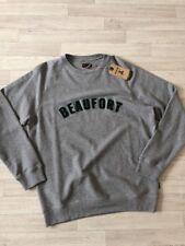 Suéter Para hombre Barbour Beaufort Jersey de cuello redondo gris medio Barbour £ 70