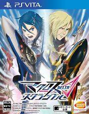 PS PlayStation Vita Macross Delta Scramble Game Anime