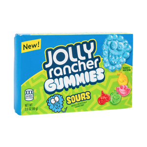 Jolly Rancher Gummies Sours American Sweets Theatre Box American Sour Candy 99g
