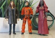 """Doctor Who 3 Figure Lot 6"""" The10th Tennant Donna Noble & Pyrovile Priestess Set"""