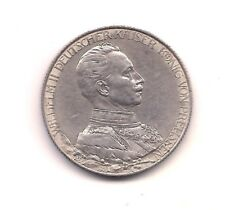 1913 A German States Prussia Silver Two Marks ---Very Strong Details  !!