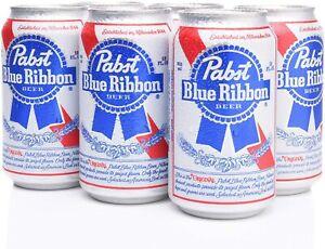 PABST BLUE RIBBON - Amerikanisches Dosenbier 24 x 355ml US Bier Beer
