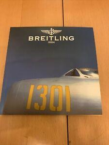 Katalog Breitling 1884 mit Preisliste 2002-2003 * CHRONOLOG 03 * Topp