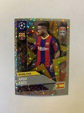 ANSU FATI - ROOKIE, Topps UEFA 2020/2021, Barcelona #RS3, MINT, RARE Sticker