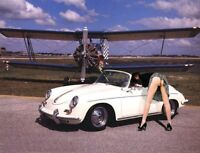 A3 PORSCHE 1962-1963 356 B 1600 S CABRIOLET POSTER BROCHURE PICTURE ART PRINT