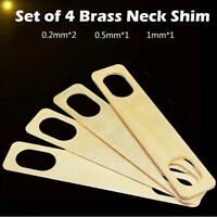 4 Stück 0,2 Mm, 0,5 Mm, 1 Mm Nackenscheiben Für Gitarren-Bass-Zubehör