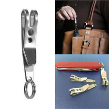 5 EDC Bag Suspension Clip Keychain Clip Tool Carabiner Outdoor* Quicklink Tools