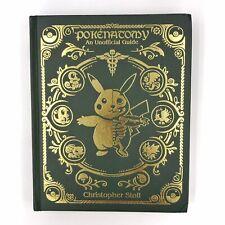 PokeNatomy Book - 300 Page Leather Bound Edition -Unofficial Pokemon Anatomy NEW