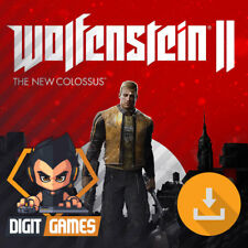Wolfenstein II (2) The New Colossus - Steam Key / PC Game - FPS [NO CD/DVD]