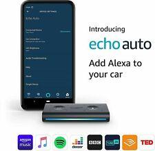 New Amazon Echo Auto Smart Car Speaker with Alexa  2020