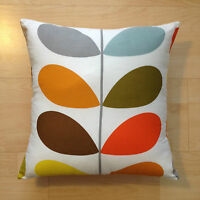"Retro Orla Kiely MULTI STEM print cushion cover 16"" / 18"" / 20"" (40 / 45 / 50cm)"