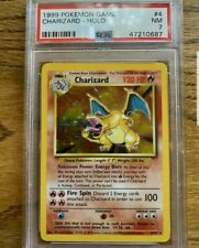 PSA 7 1999 Pokemon Base Set Charizard 4/102 Holo Rare WOW!!!