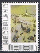 Persoonlijke zegel Anton Pieck postfris MNH 06: Winter landschap
