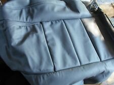 NEW NOS 1999 - 2004 FORD MUSTANG CONVERTIBLE RH FRONT SEAT BACK UPHOLSTERY GREY