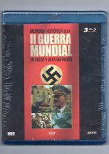 PACK DE 3 BLU-RAY DISCS DISC PRECINTADO MEMORIA HISTÓRICA LA II GUERRA MUNDIAL