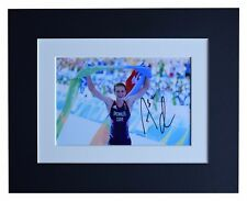Alistair Brownlee Signed Autograph 10x8 photo display Olympic Triathlon COA