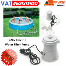More details for electric filter pump swimming paddling pool above ground flowclear tool 300gal/h