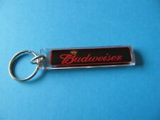 BUD Budweiser Key Ring. VGC. From The USA