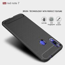 Slim Tough Bumper Rugged Armor Case Cover For Xiaomi Redmi Note 7 / 7 Pro -Black