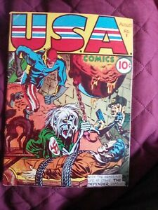 USA Comics #1, Alan Light Flashback