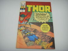 The Mythical Thor No 3 with Stickers Gadget 1971 Editoriale Horn Mint Condition