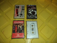 Hard Rock 4 Cassette Lot - Guns n Roses , Slash,Judas Priest +1 - Good Condition