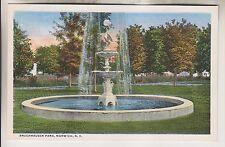 Vintage Postcard - Bruckhausen Park - Norwich New York