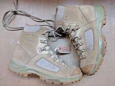 Original British Army Issue Leather Lowa Desert Combat Boots Size 6 UK #658