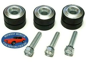 GM Wiper Motor Mounting Bushing Rubber Grommet W/ Correct B&H Head Stamp Screw A