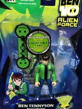 "New - BEN TENNYSON & BOARD - 4"" Ben 10 Action Figure Alien Force BANDAI 2008"